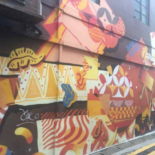 street art in malay district