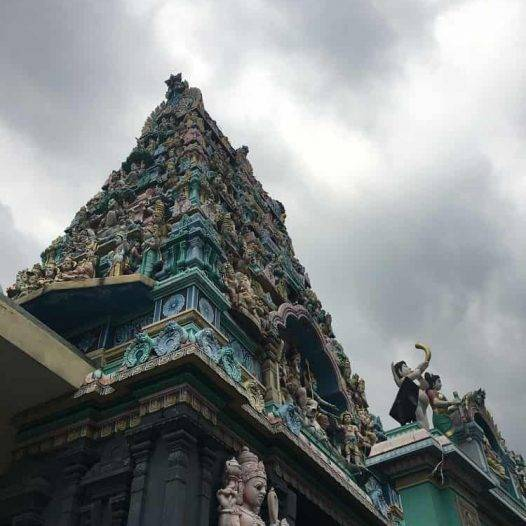 hindu temple in china town