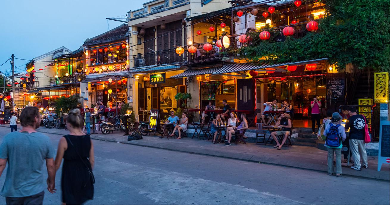Street in Hội An, Vietnam